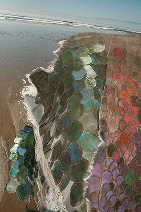 """Mica Escala Shoreline,"" Rebecca DiDomenico, 2011, digital print"