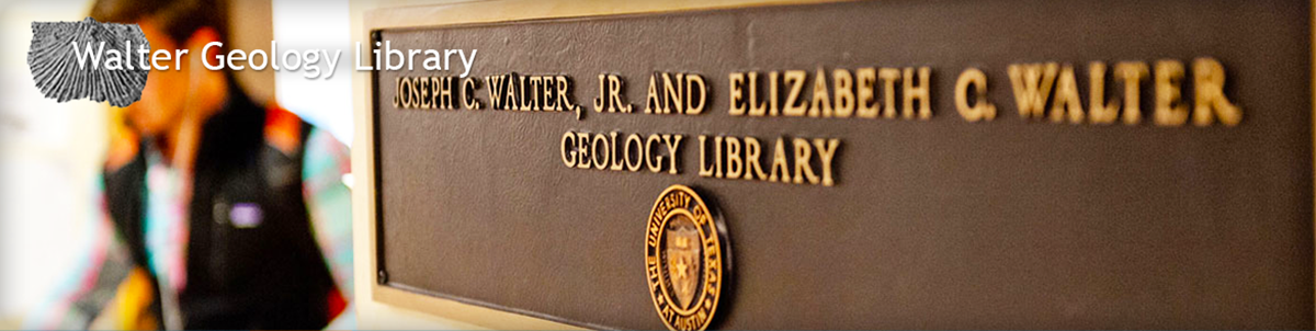 Walter Geology Library