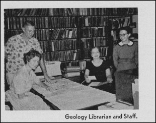 Early Geology Library staff