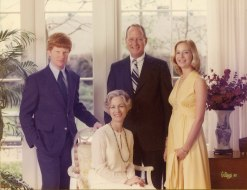 The immediate Walter family