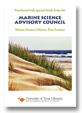 Marine Science Advisory Council  bookplate
