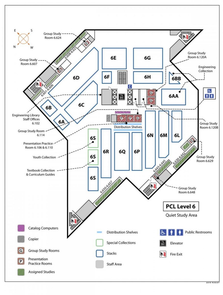 Locations Guide University Of Texas Libraries