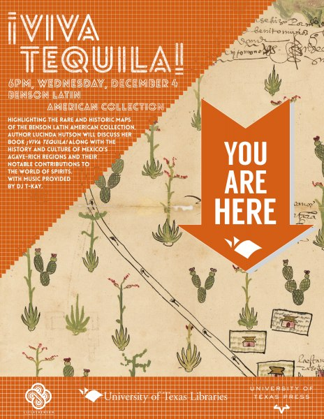 You Are Here map series featuring Viva Tequila University of