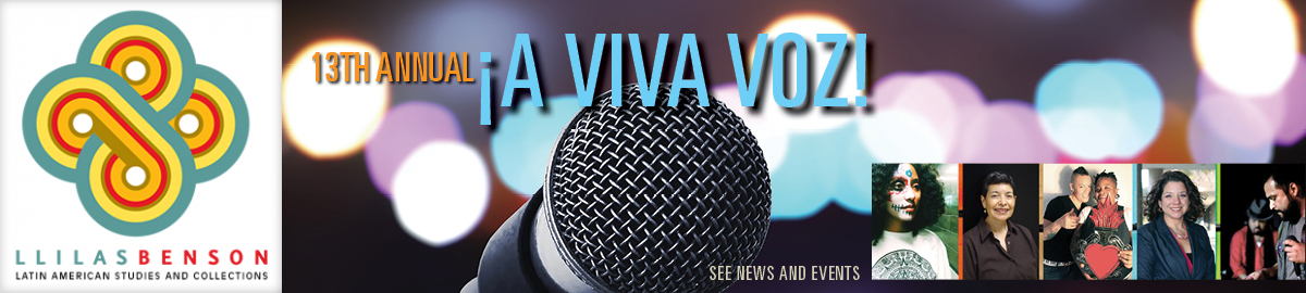 13th Annual A Viva Voz! - See News and Events for more information