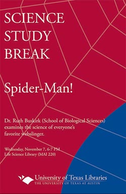Science Study Break with Dr. Ruth Buskirk poster