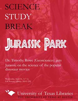 Science Study Break with Dr. Timothy Rowe poster