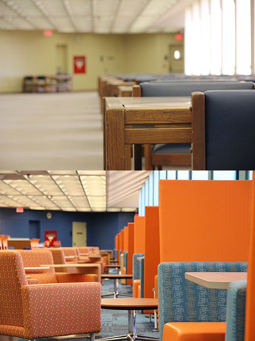 Fifth floor transformation at PCL.