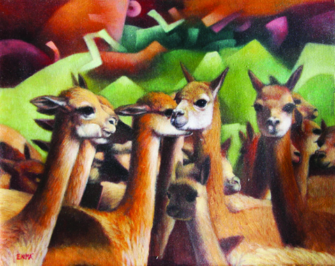 Vicunas from Art Across the Americas