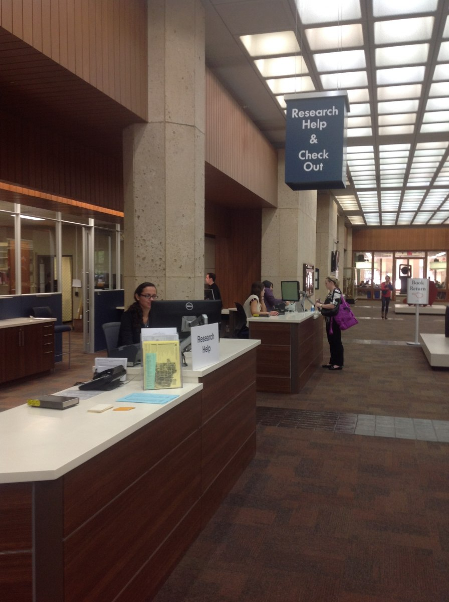 Borrower Services | University of Texas Libraries