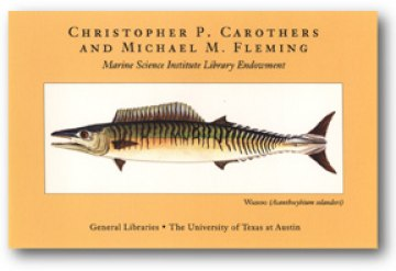 Christopher P. Carothers and Michael M. Fleming bookplate