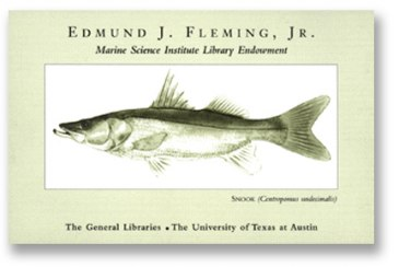 Edmund J. Fleming Jr. bookplate