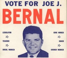 Vote for J Bernal