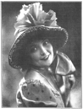 Conchita Supervía. Mundo gráfico, Madrid, February 9, 1927.