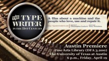 Typewriter documentary poster