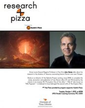 Research + Pizza with Dr. John Clarke poster