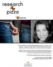 Research + Pizza with Dr. Paige Harden poster