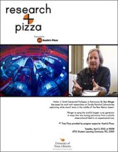 Research + Pizza with Dr. Don Winget poster