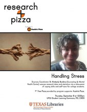 Research + Pizza - Dr. Kimberly Burdine