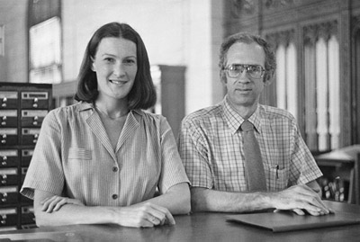 Mary Beth Bigger and George Cogswell